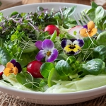 EDIBLE FLOWER SALAD MIXED